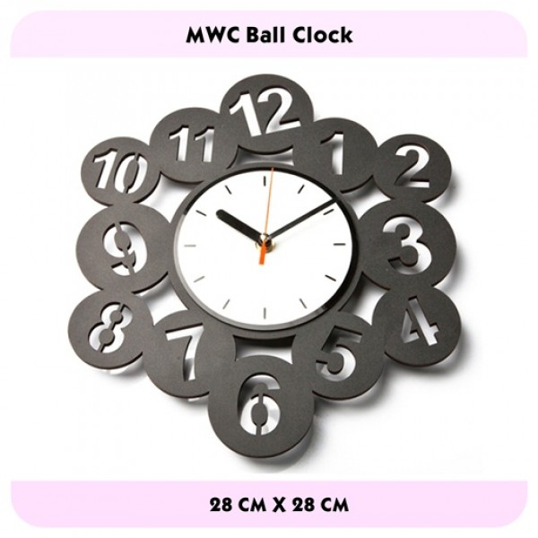 JAM DINDING BALL CLOCK