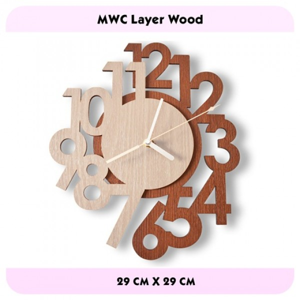 JAM DINDING LAYERWOOD