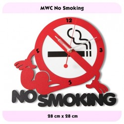 JAM DINDING NO SMOKING