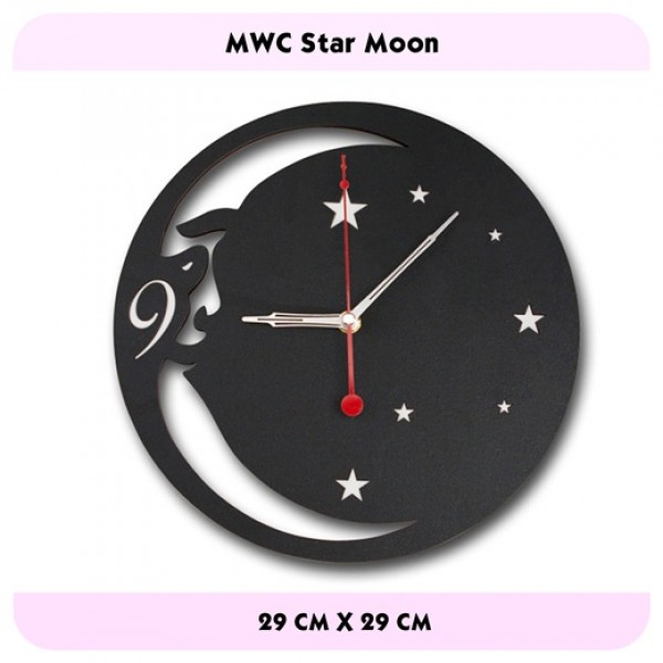 JAM DINDING STAR MOON